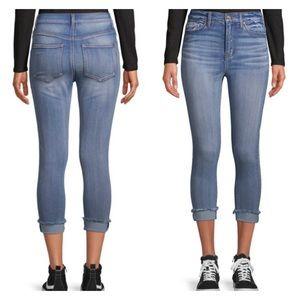 No Boundaries High Rise Skinny Crop Jeans Jeggings